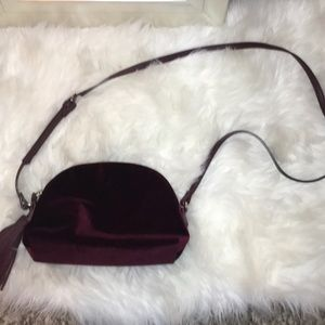 Violet Burgundy Crosssbody bag!✨